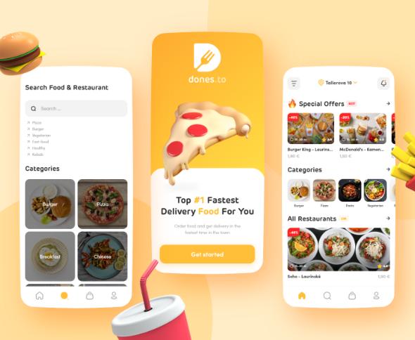 Dones.to app UI